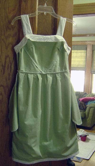 Hazel Dress Underlining