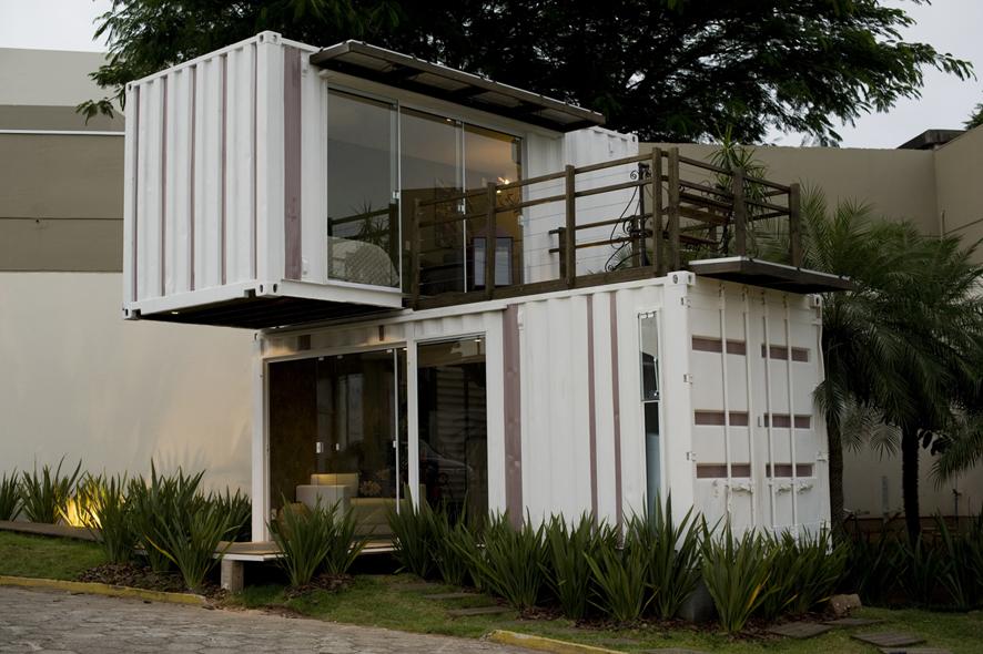 Blog da roca im veis casas containers - Casas minimalistas baratas ...