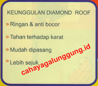 KEUNGGULAN GENTENG METAL DIAMOND ROOF