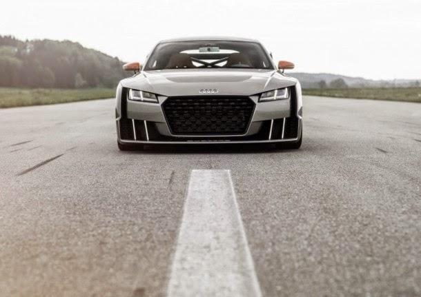 Conheça o novo Audi TT com turbo eléctrico (fotos e video)