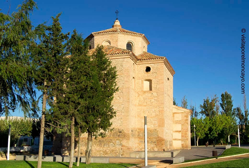 Ermita Nuestra Señora Puy Mallen Aragón Comarca Campo de Borja