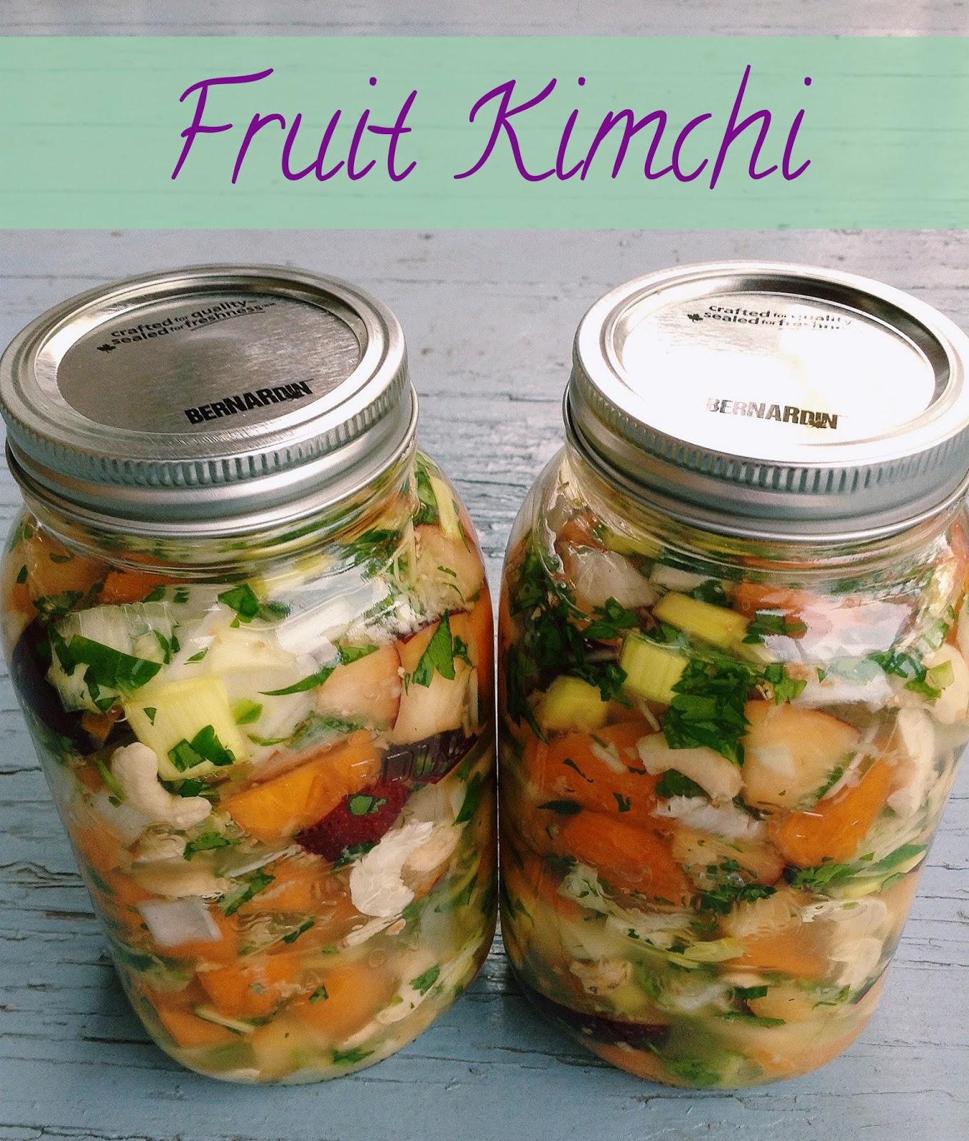 Fruit Kimchi
