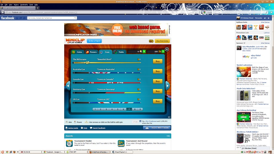 Cheat Line | Cheat Cue, Table (USE) 8 Ball Pool With Cheat Engine .