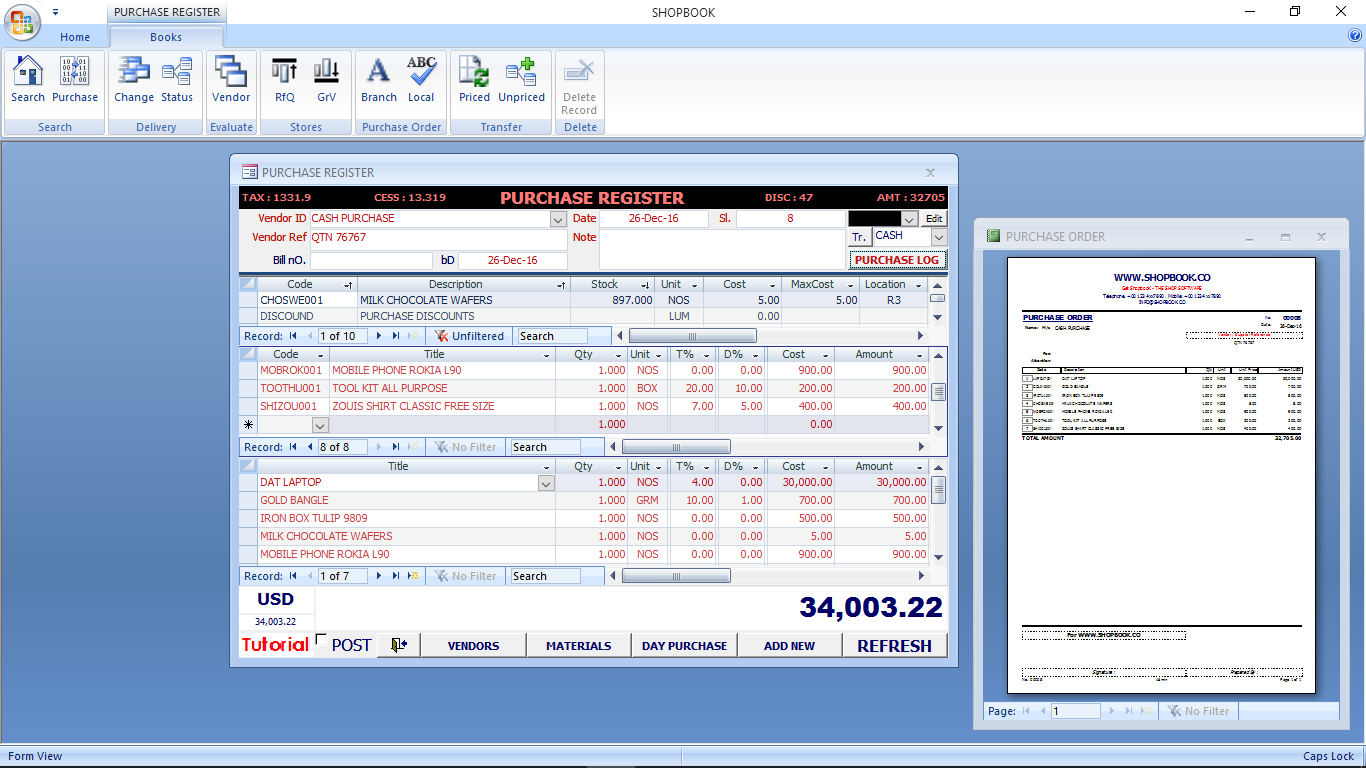 ShopbooK ScreenShot3