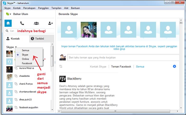 Cara Daftar dan Menggunakan Skype Bagi Pemula
