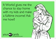 I love owning my own business and working from home!