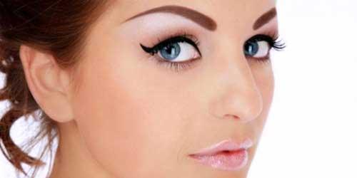 como depilar las cejas en rostros triangulares