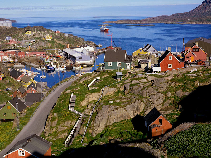 TOP WORLD TRAVEL DESTINATIONS: Greenland Scenery