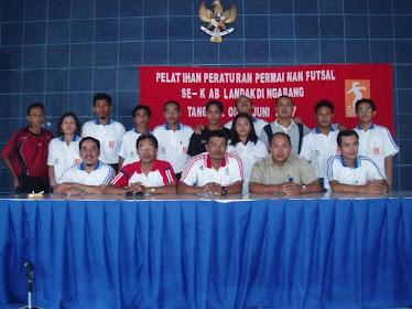 Pelatihan Wasit Futsal