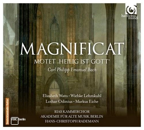CPE Bach - Magnificat, Heilig ist Gott, Sinfonie in D Major - HMC 902167