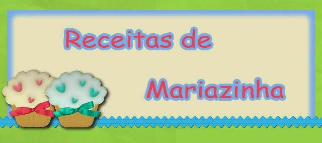 Receitas de Mariazinha