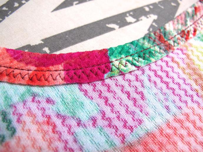 oonaballoona | a sewing blog | stretch stitches: lightning stitch, triple stitch, zigzag
