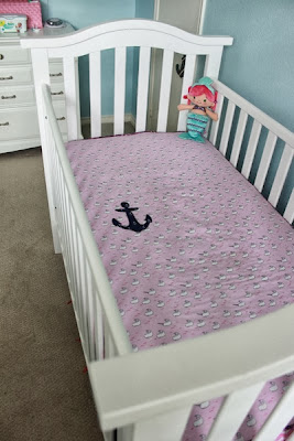 Allergic to Ironing Nautical Nursery