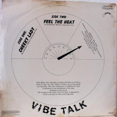 Vibe Talk Cheeky Lady Feel The Heat