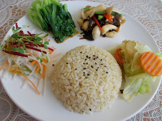 Healthy Rice Set, S$ 7.00
