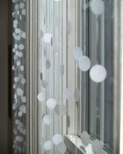 Cara membuat hiasan jendela kamar yang cantik bentuk salju - Cortinas de papel para navidad ...