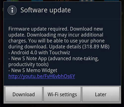 download android ice cream sandwich firmware for samsung galaxy note