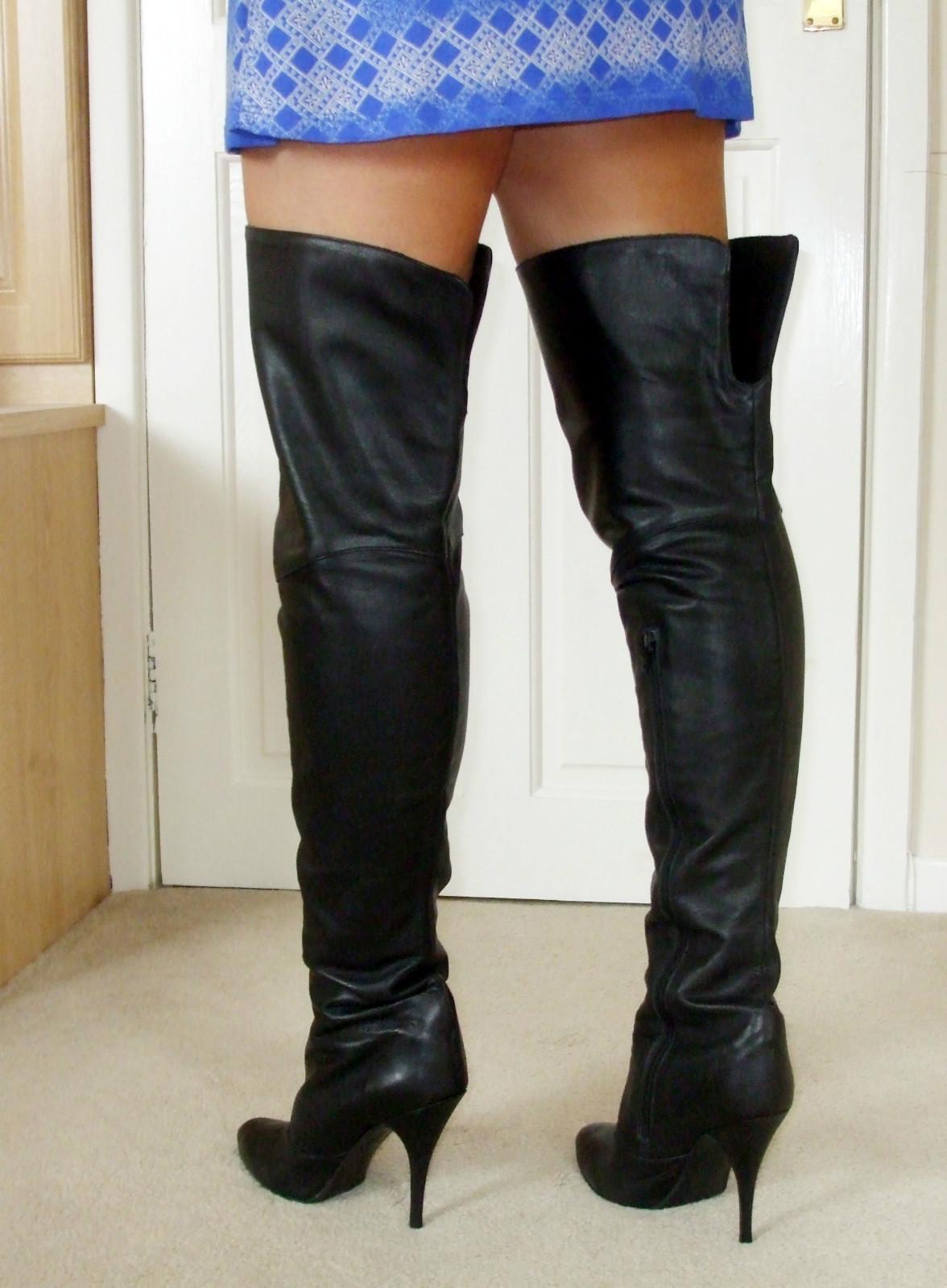 ebay leather a uk seller models some black
