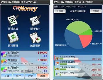 CWMoney APK-APP下載(記帳 CWMoney 理財筆記),手機記帳軟體Android版