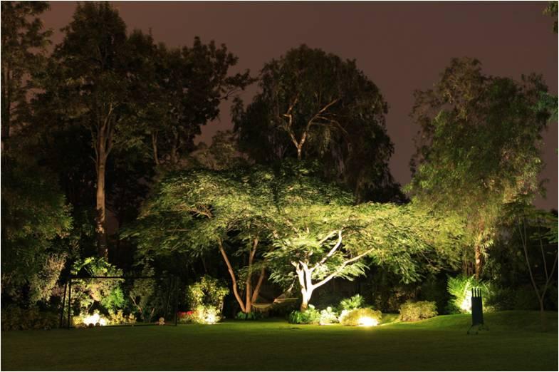 Como iluminar las tendencias del 2012 for Iluminacion arboles jardin