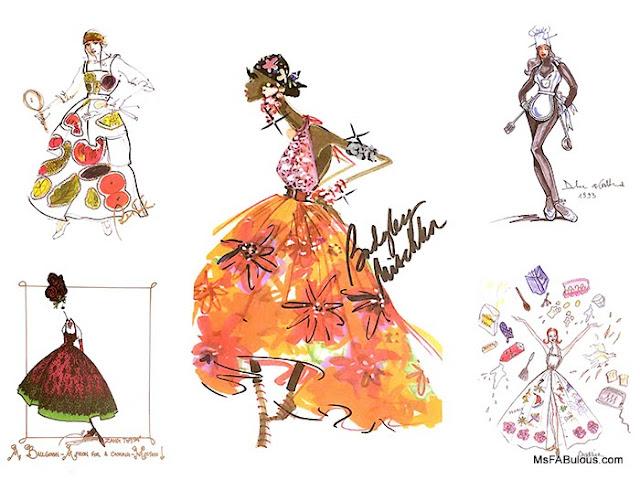 nyfw fashion sketch