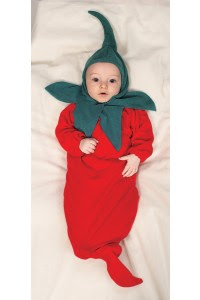 Chili Pepper Baby Halloween Costume