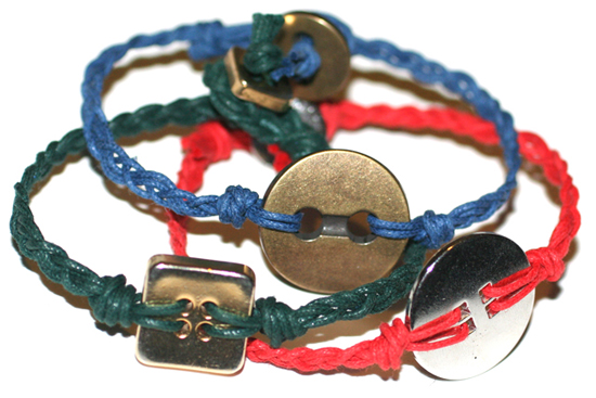 Gelang Kancing Cantik - Button Bracelet
