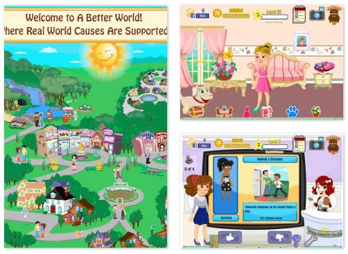 FB Game : A Better World