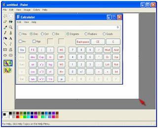 Mengcapture tampilan di desktop menggunakan printscreen