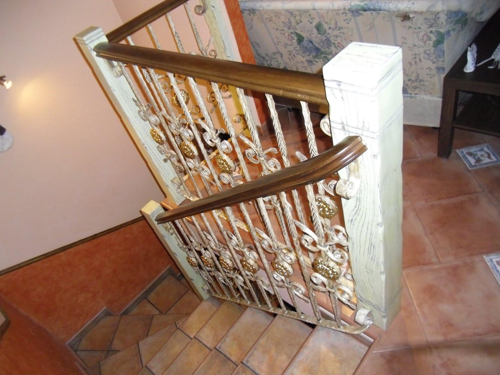 Pasamanos de madera para escaleras pequeas escaleras con - Pasamanos de escalera ...