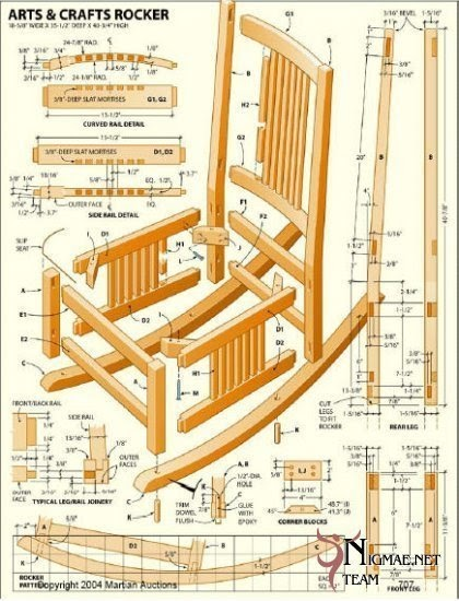 Woodworking plans for outside chairs ~ Patt