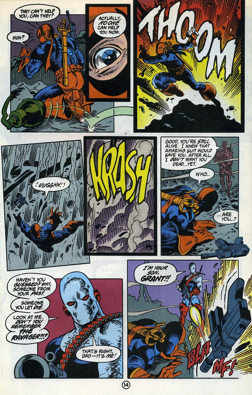 Deathstroke (1991) Issue #3 #8 - English 18