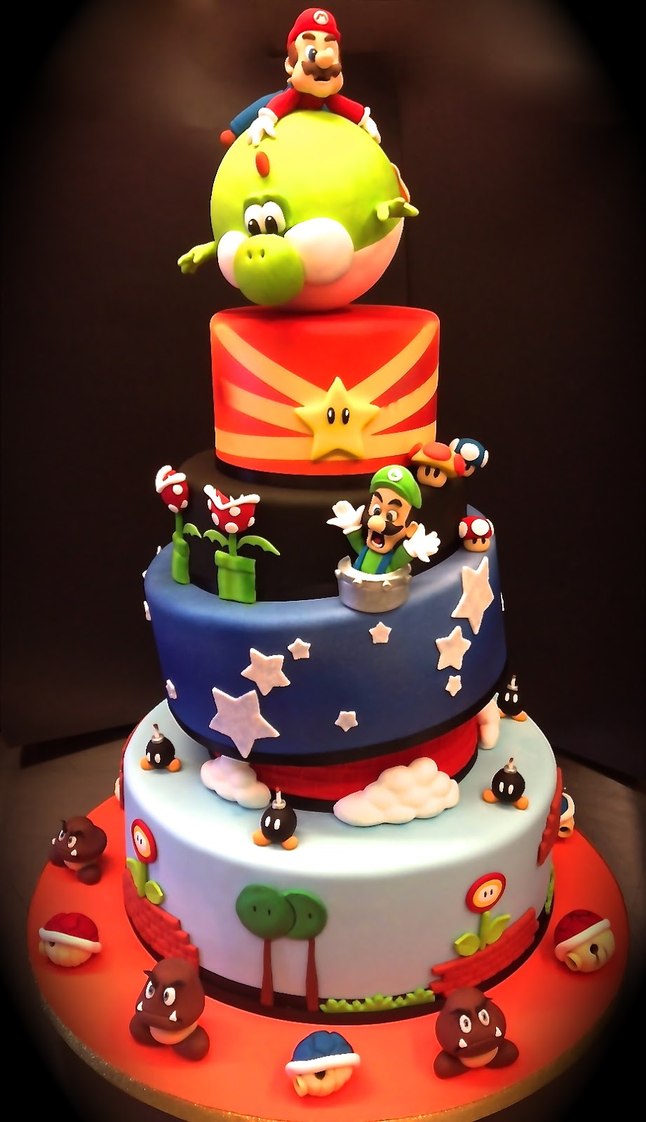 geek art gallery sweets super mario cake. Black Bedroom Furniture Sets. Home Design Ideas