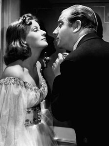 Greta Garbo y Melvyn Douglas en Ninotchka
