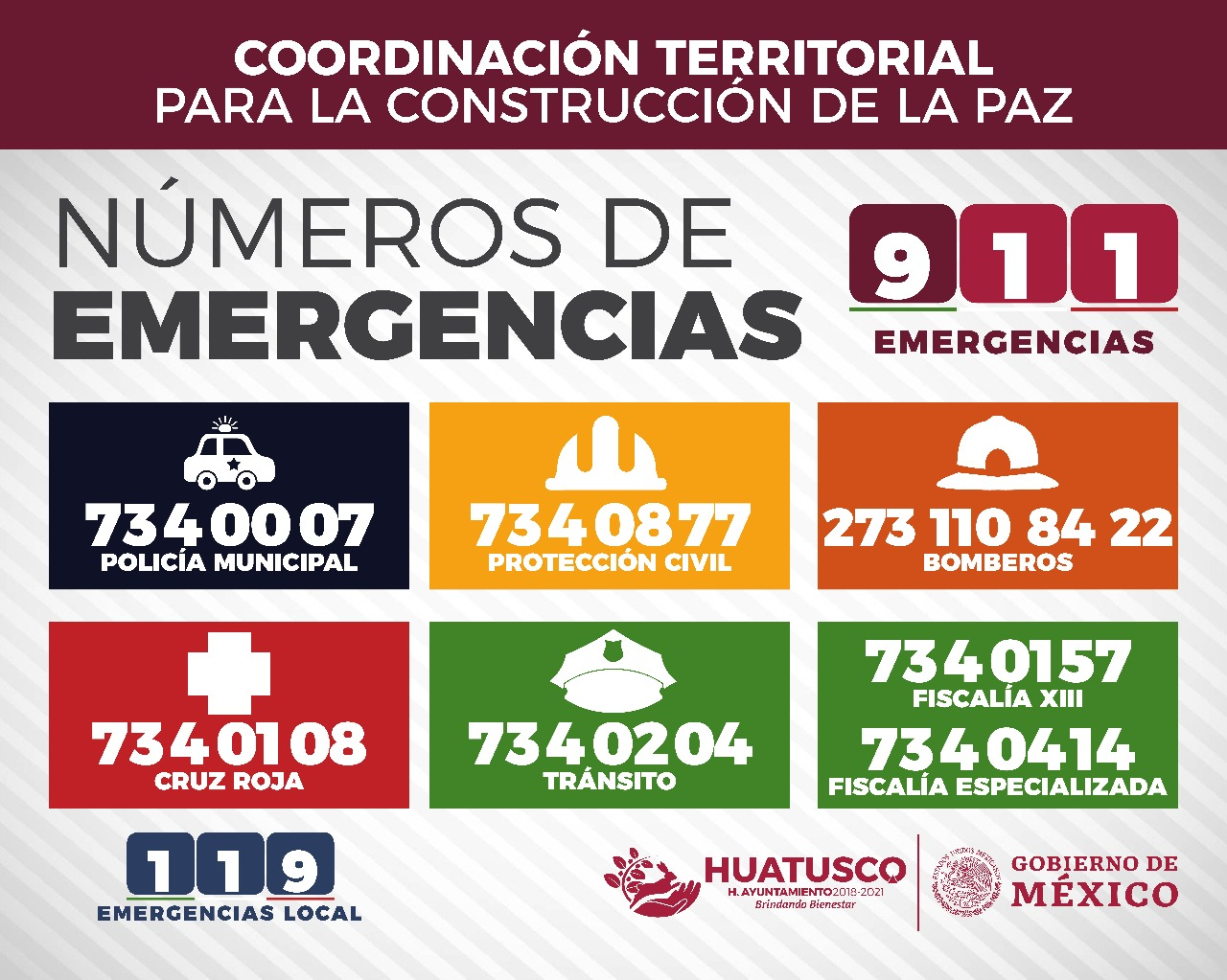Numeros de Emergencia Huatusco