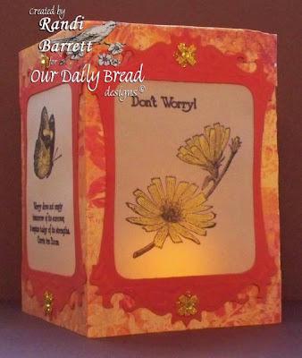 Our Daily Bread designs Don't Worry Designer Randi Barrett