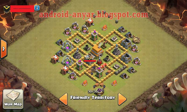 gambar base war th 6 terkuat