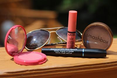 Summer Makeup: Waterproof Mascara, Long-wearing Blush, Bronzer, and Hydratig Lipcolor
