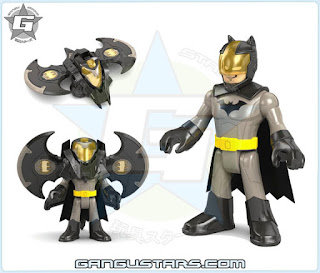 Imaginext DC Super Friends Battle Shifterz Batman armor robots イマジネックスト アメコミ バットマン
