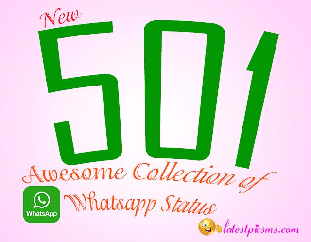 501 whatsapp status