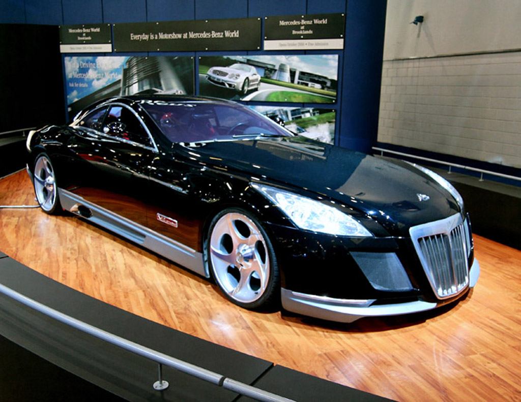 maybach exelero custom modified cars. Black Bedroom Furniture Sets. Home Design Ideas