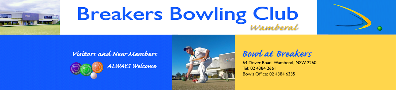 Breakers Bowling Club Wamberal