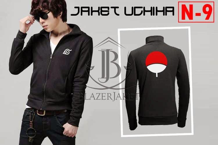 Jaket Anime Naruto - Uchiha symbol blazerjaket blazer