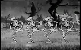 Genevi ve charras wald disney danse macabre skeleton for Histoire macabre
