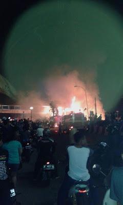 Pasar Gembrong Kebakaran