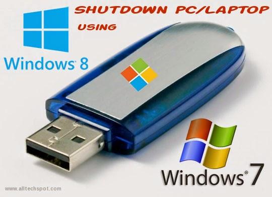 shutdown-laptop-pendrive