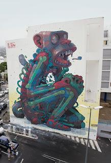 aryz, mural, street art, studio, large