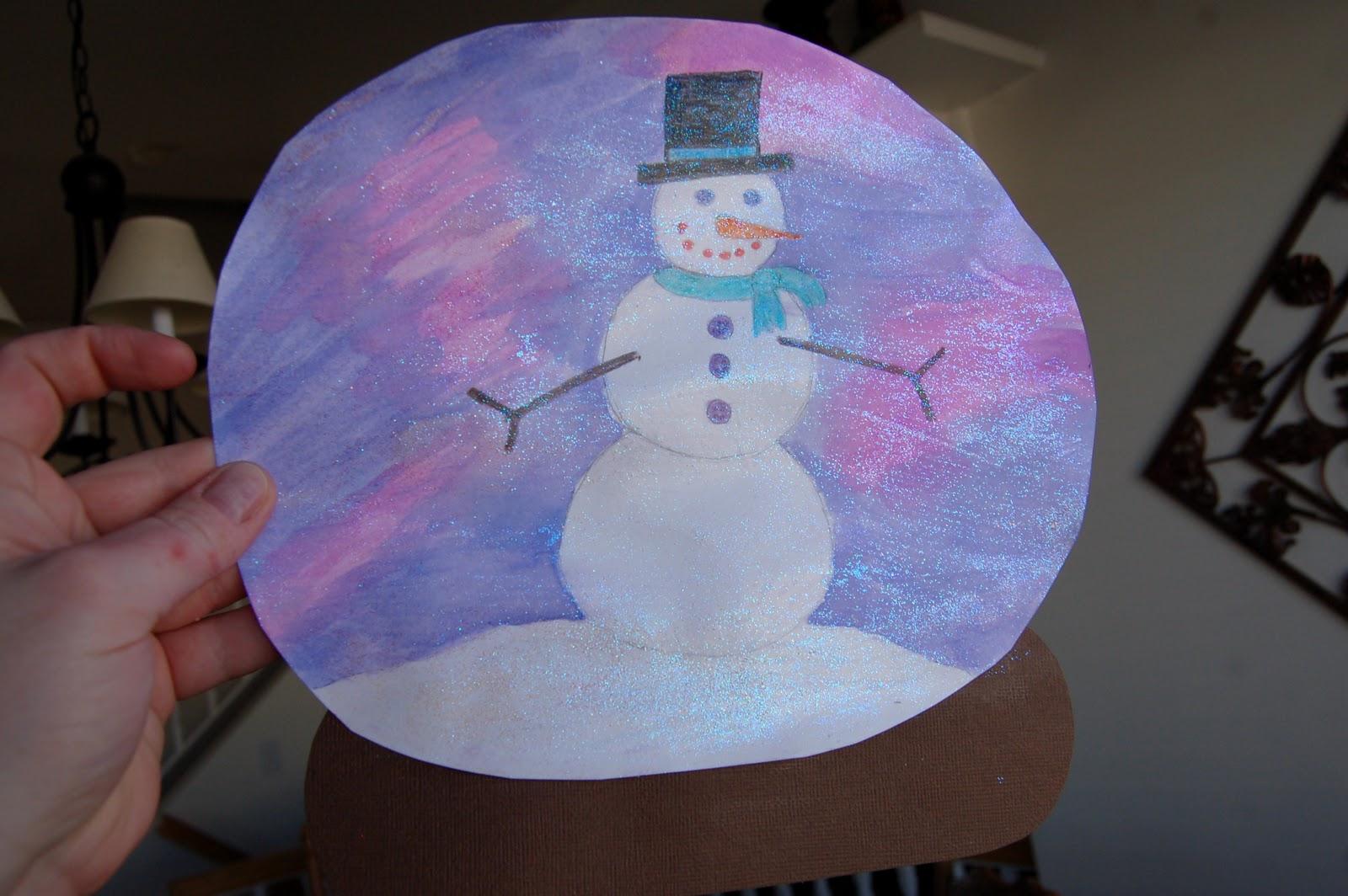 snow globe craft i heart crafty things