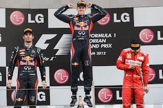 FÓRMULA 1-Vettel lidera la carrera y el Mundial
