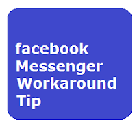 facebook messenger workaround tip